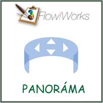Jednoduché použitie Poznávacej panorámy - FlowWorks
