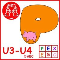 Interaktívne pexeso zvieratká abeceda