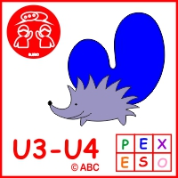 Abeceda zvieratká - interaktívna hra Pexeso