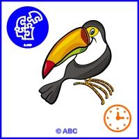 hľadaj rozdiely - interaktívna hra vtáky