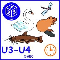 Počítame zvieratká - pri rybníku U3-U4