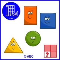 hra sudoku geometrické tvary