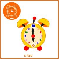 orientácia v čase - zábavné hodiny