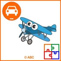 interaktívna hra - skladačka lietadlo