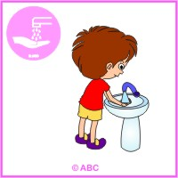 HRA ČISTÉ RUKY - umývam si ručičky