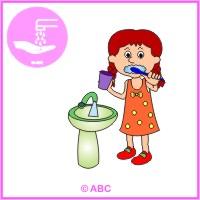 HRA ČISTÉ ZUBY - umývam si zúbky
