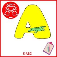 abeceda zvieratká od A po H - pracovné listy